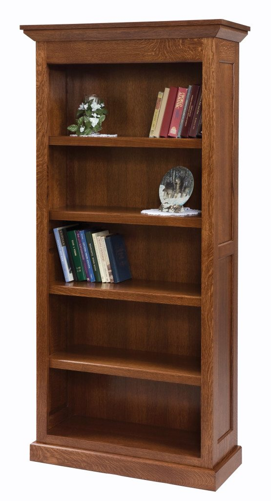 The Downing Street Executive Curio Desk: Homestead Bookcase