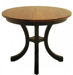 Carlisle Pedestal Table with Cherry round top