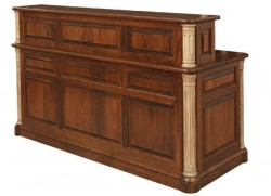 Jefferson Executive Desk with Cubby