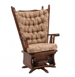 Wingback Swivel Glider