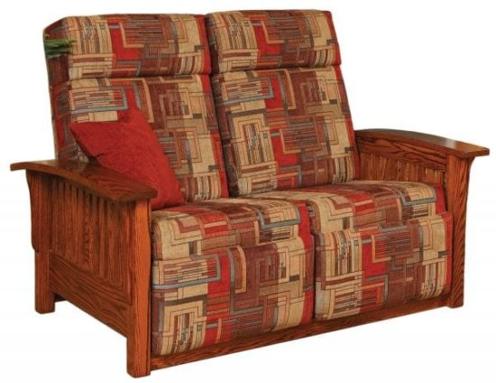 Mission Recliner Loveseat