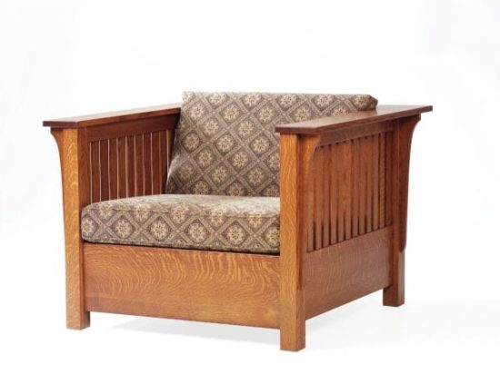 Mission Chair Bed