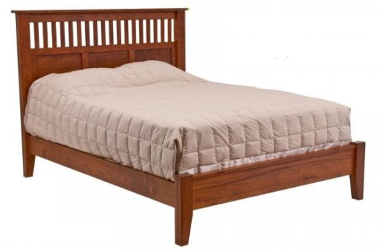 Mission Antique w/Low Footboard
