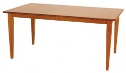 Valley Shaker Table shown in Cherry