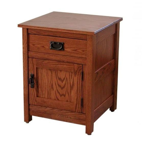 Country Mission 1-Drwr Nightstand