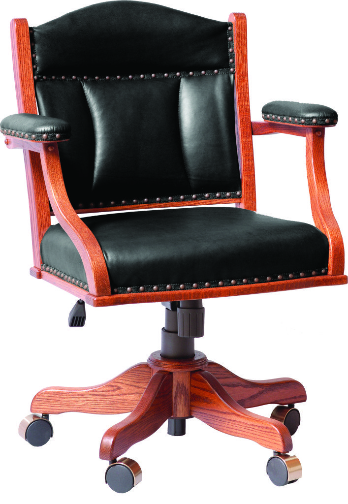 Low Back Buckeye Desk Chair