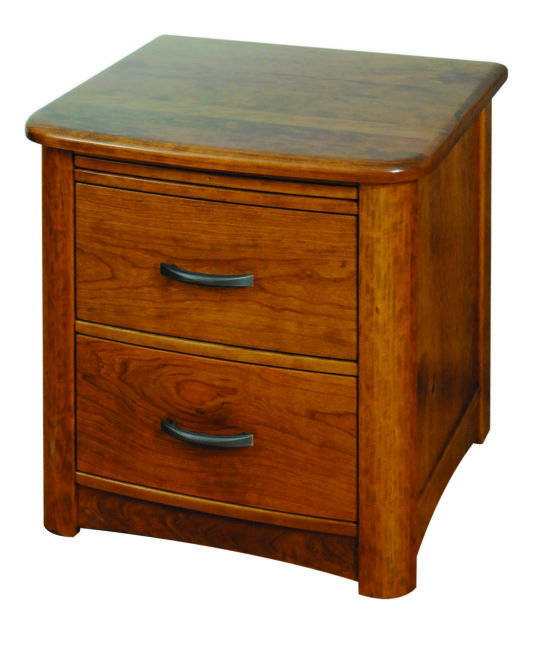 Meridian Two-Drawer Nightstand