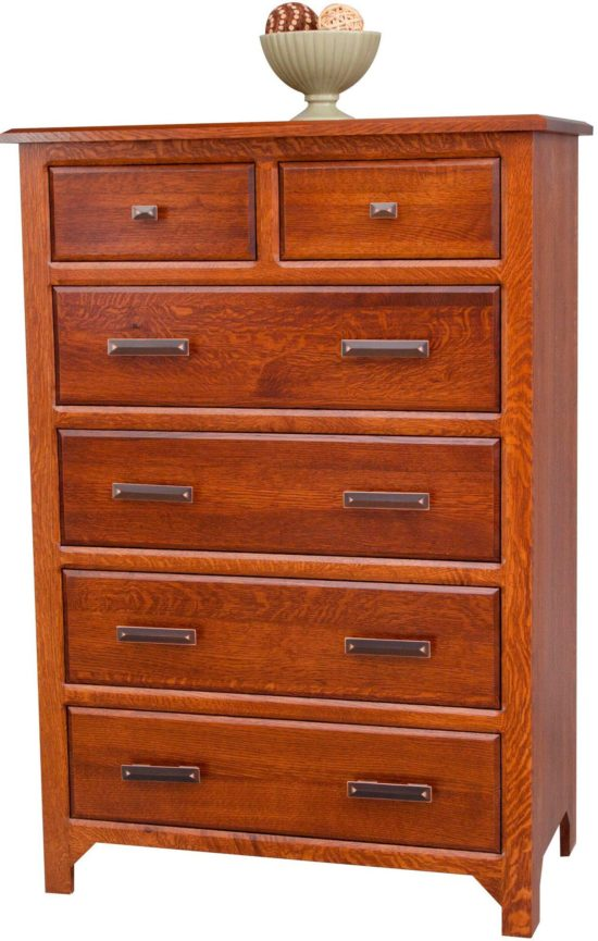Old World Mission Chest of Drawers