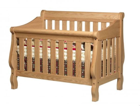 Heirloom Slat Panel Crib
