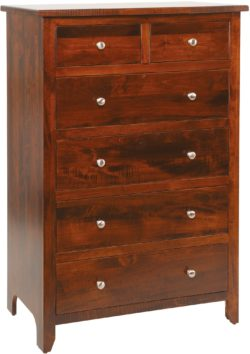 Classic Shaker Six-Drawer Chest